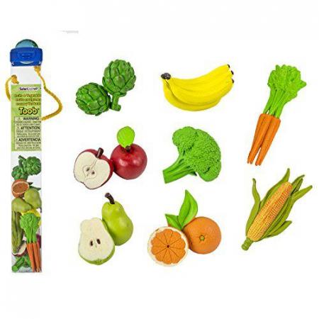 Fructe si legume - Set 8 figurine