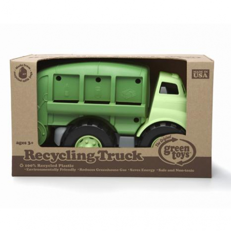 Masina de salubrizare - Green Toys - Learning Resources1