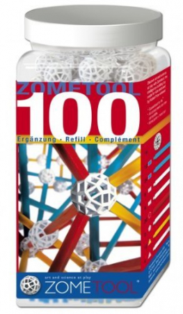 Set stiintific de constructie Zometool - 100 piese extra0