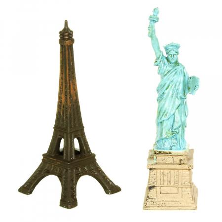 In jurul lumii - set 10 figurine
