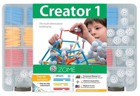 Set stiintific de constructie Zometool - Creator 10