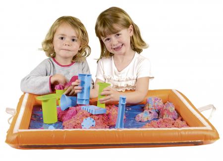 Tavita gonflabila pentru joaca cu nisip kinetic sau alte materiale1