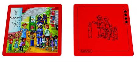 Urgenta sau nu? - set carti de joc ilustrate - cum reactionezi in diferite situatii7