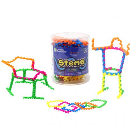 Stems - Set constructie cu piese - 20 de piese0