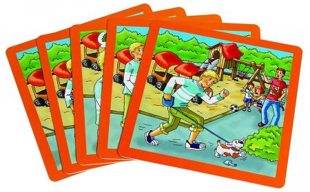 Urgenta sau nu? - set carti de joc ilustrate - cum reactionezi in diferite situatii2