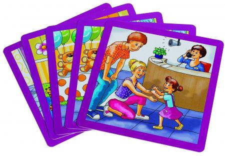 Urgenta sau nu? - set carti de joc ilustrate - cum reactionezi in diferite situatii5