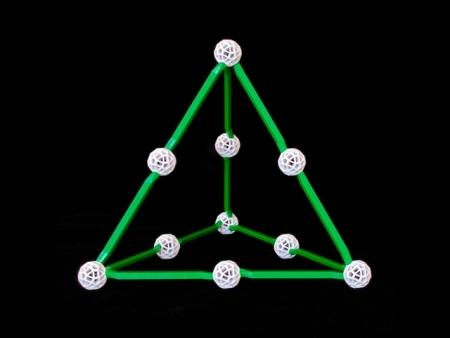 Set stiintific de constructie Zometool - Cosmosului lui Kepler2