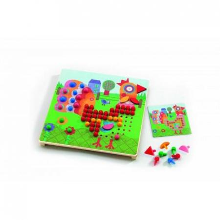 Mozaic animo - Joc cu piuneze0