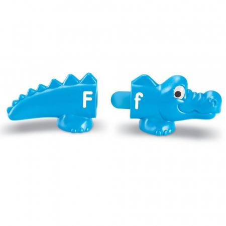 Aligatorii pereche - Set alfabet si culori2