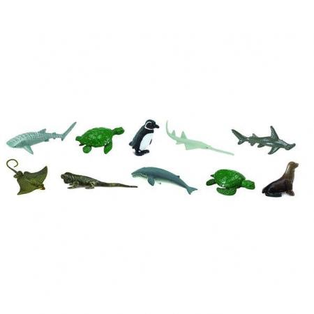 Animale marine pe cale de disparitie - Set 12 figurine0