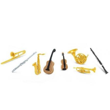 Instrumente muzicale - Set 8 figurine0