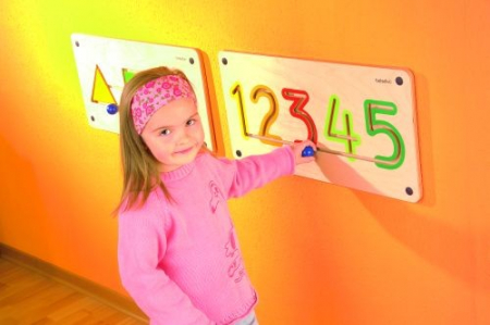 Aplicatie de perete Numere 1-5 [1]