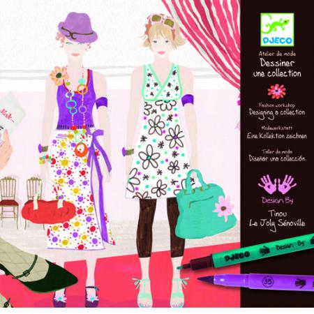 Atelier de moda fii designer! - Set creativitate si indemanare0