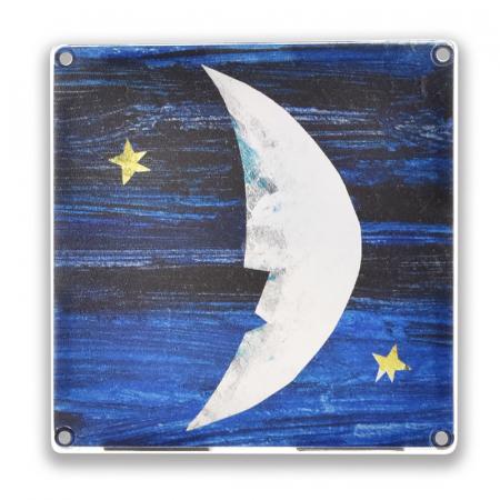 Set de constructie piese magnetice, CreateOn Magna-Tiles -  Tati, te rog, adu-mi luna de pe cer By Eric Carle, 16 piese7