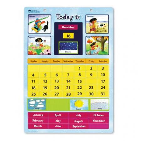 Calendar magnetic cu ghid de activitati0
