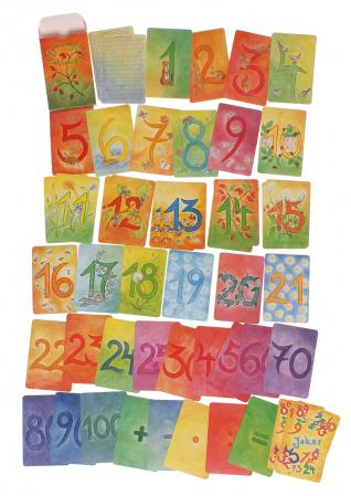 Carduri pentru invatat numerele kit suplimentar1