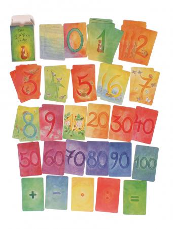 Carduri pentru invatat numerele varianta 11