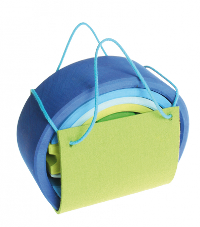 Casuta papusii albastru-verde [1]