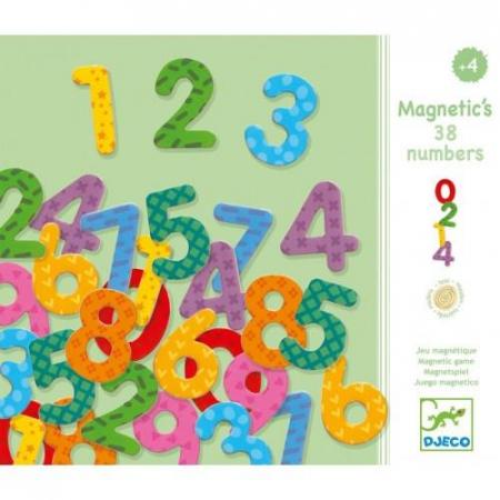 Cifre magnetice colorate pentru copii1