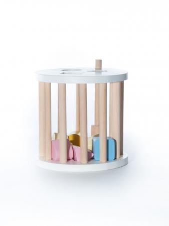 Cilindru cu forme, jucarie handmade Marc toys [1]