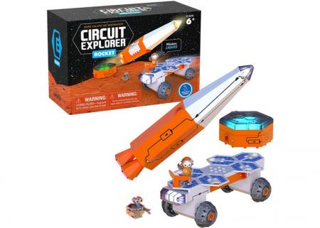 Set constructie STEM invatare circuite: Circuit Explorer - Racheta0