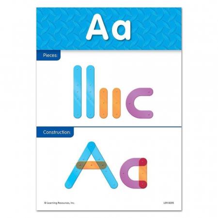 Construieste alfabetul - Set constructie