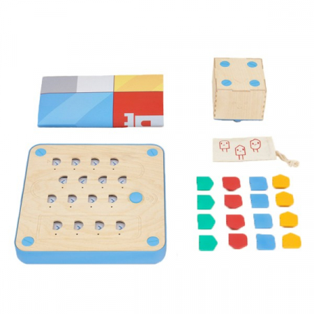 Cubetto - set invatare bazele programarii - certificat Montessori3