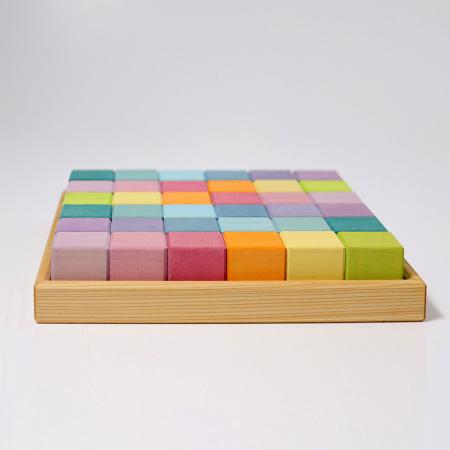 Cuburi Mozaic nuante pastel mediu [1]