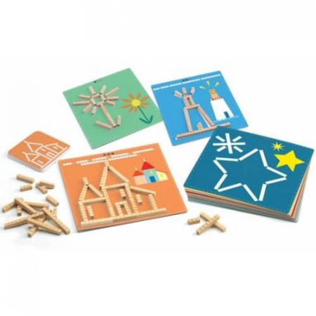 Eduludo Sticks - joc cu segmente0