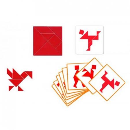 Tangram - joc interactiv de logica0