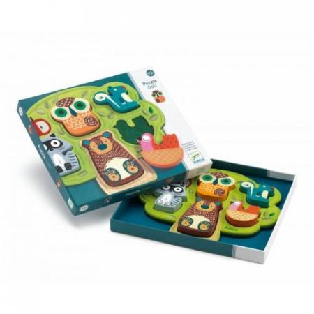 Puzzle cu animale Oski1