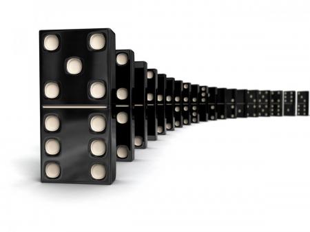 Domino mini in cutie de lemn [2]