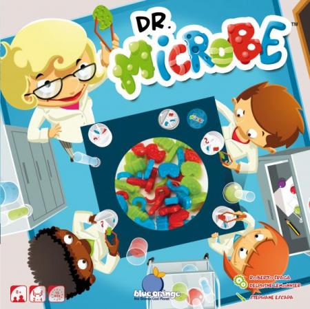 Dr. Microb - Joc Educativ Blue Orange