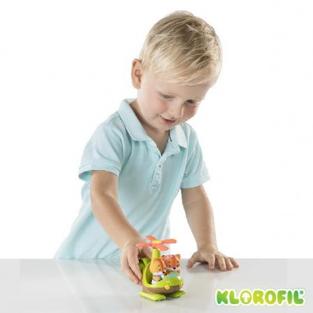 Elicopterul interactiv de la Klorofil - Jucarie joc de rol [4]