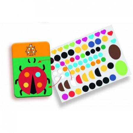 Edu-Stick - Stickere educative Culori1