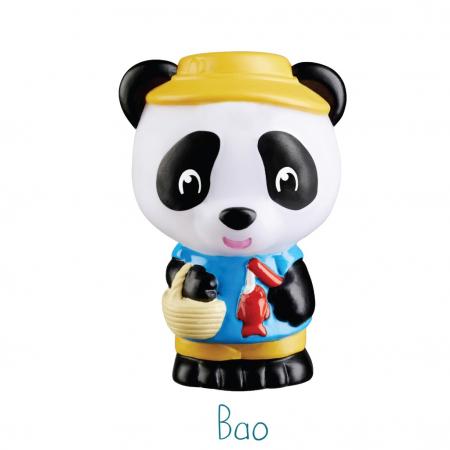 Familia de ursuleti Panda - Set figurine joc de rol [3]