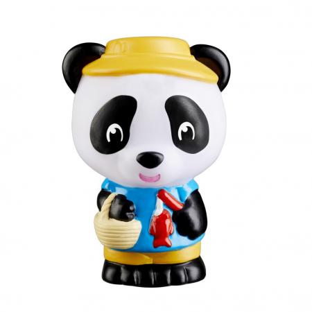 Familia de ursuleti Panda - Set figurine joc de rol [8]