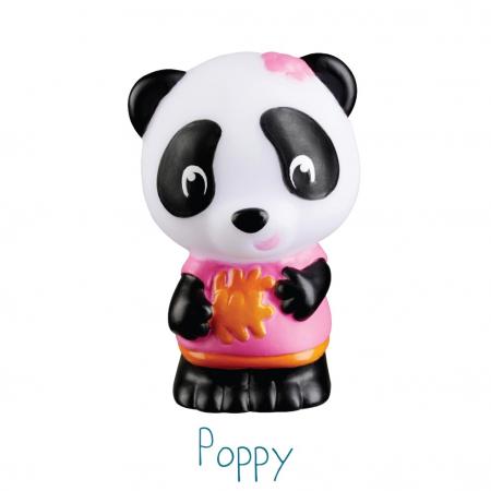 Familia de ursuleti Panda - Set figurine joc de rol [5]
