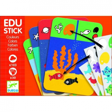 Edu-Stick - Stickere educative Culori4