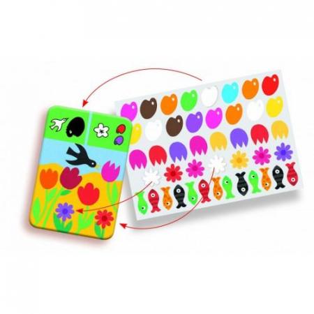 Edu-Stick - Stickere educative Culori0