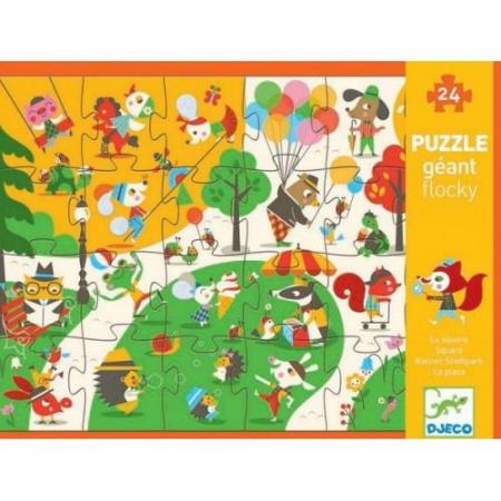 Puzzle gigant - Sa ne jucam in parc1