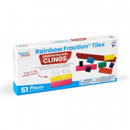Invata matematica - Fractii colorate