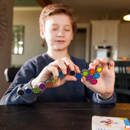 IQ puzzle Coggy Fat Brain Toys3