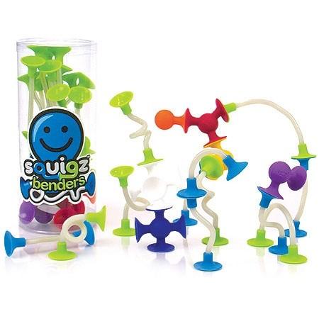Joc de constructie Squigz Flexi Set - Fat Brain Toys [0]