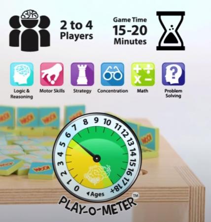 Joc educativ cu litere si numere Woo - Fat Brain Toys4
