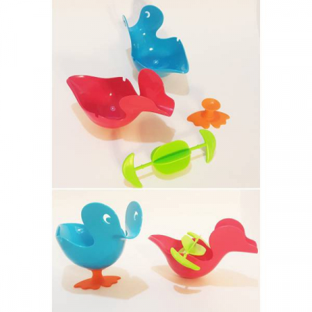 Jucarie de baie Quack Stack [1]