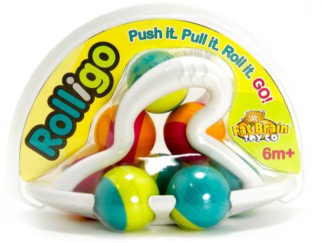 Jucarie distractiva cu bile Rollio - Fat Brain Toys6