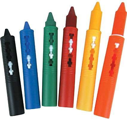 Jucarie pentru baie - Creioane colorate3