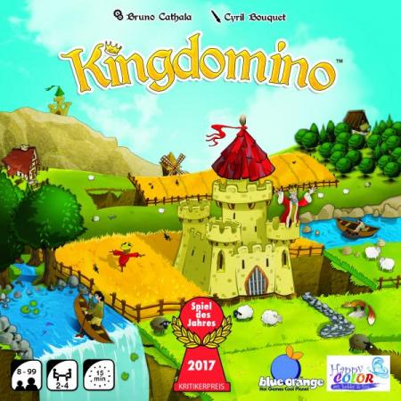 Kingdomino - Joc Educativ Blue Orange