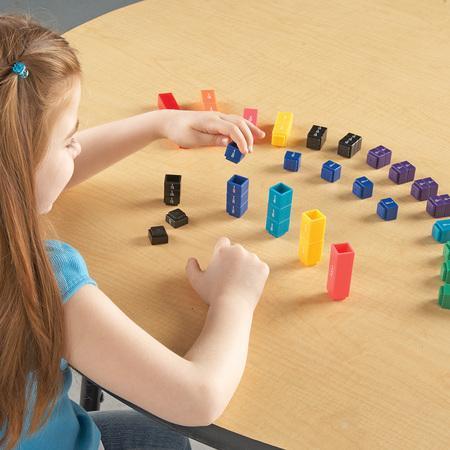 Turnul fractiilor - set educativ matematic3
